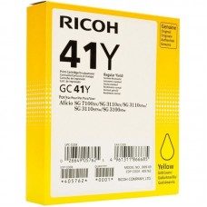 Μελάνι Gel Ricoh GELGC41Y Yellow